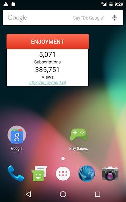 SubCount for YouTube - screenshot