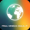Friuli-Venezia Giulia, IT Map icon