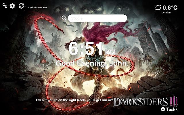 Darksiders III Wallapaper NEW Tab Theme