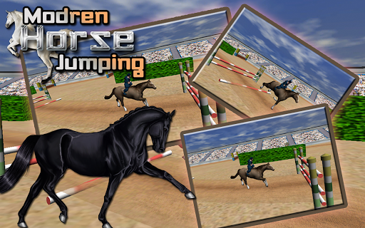 Modern Horse Jump Simulator 3D