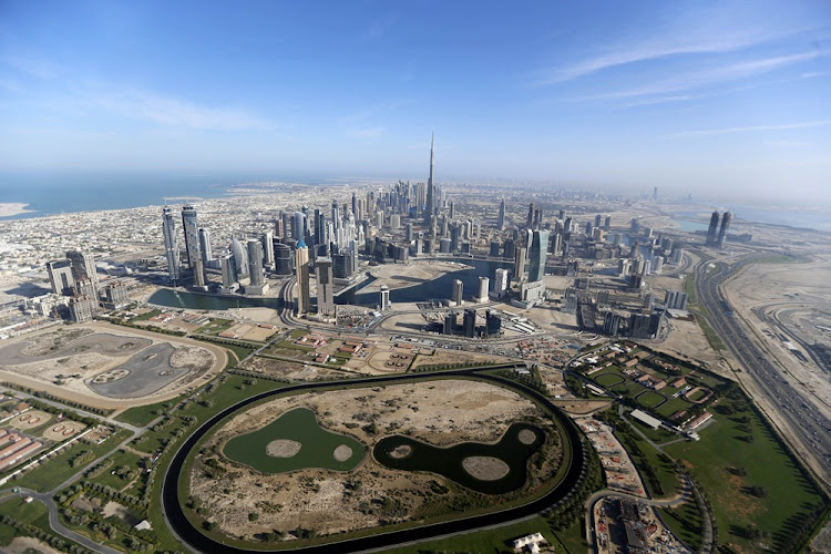 Burj Khalifa, the world's tallest tower, is seen in a general view of Dubai, UAE December 9, 2015.