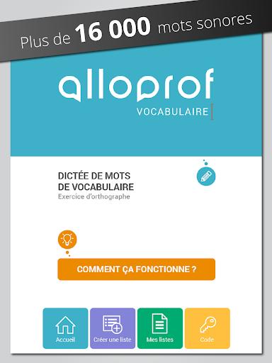 Dictu00e9e de vocabulaire Alloprof Apk Download 9