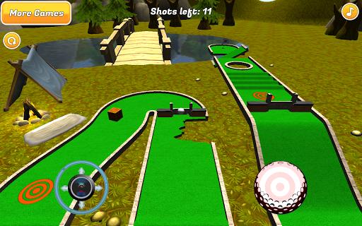 Mini Golf: Woodland Retreat