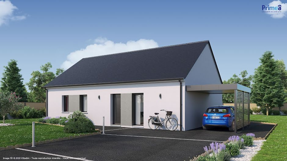 Vente maison 4 pièces 90 m² à Ambillou (37340), 145 514 €