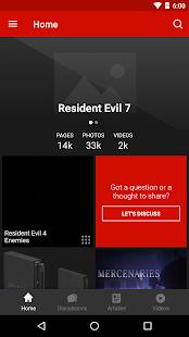 FANDOM for: Resident Evil - náhled