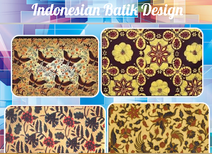 Indonesian Batik Design Mod