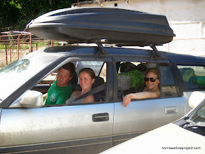 Photo: Time to hit the road: That's a packed car!