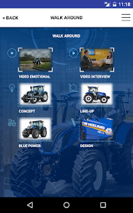 New Holland Ag. T6 range App screenshot 11