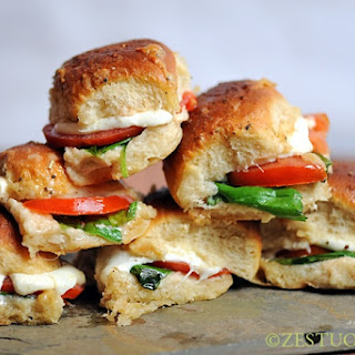 Hawaiian Caprese Sliders