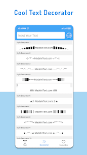 Stylish Text Generator APK 3