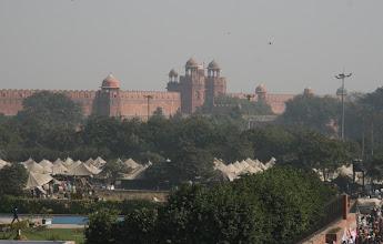 Photo: Delhin punainen linnoitus