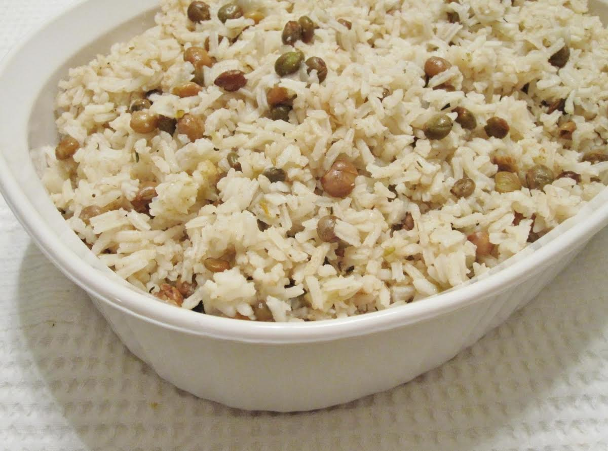 jamaican rice and peas 2  just a pinch recipes