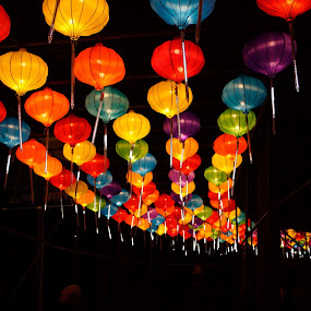 Chinese lanterns by Debra Graham - Artistic Objects Other Objects