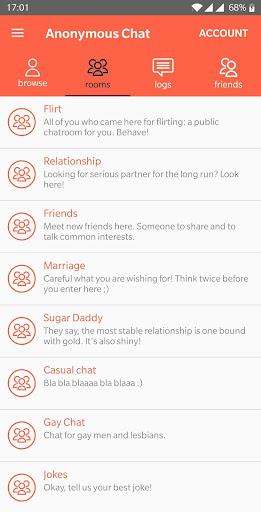 Anonymous Chat 1.60 screenshots 6