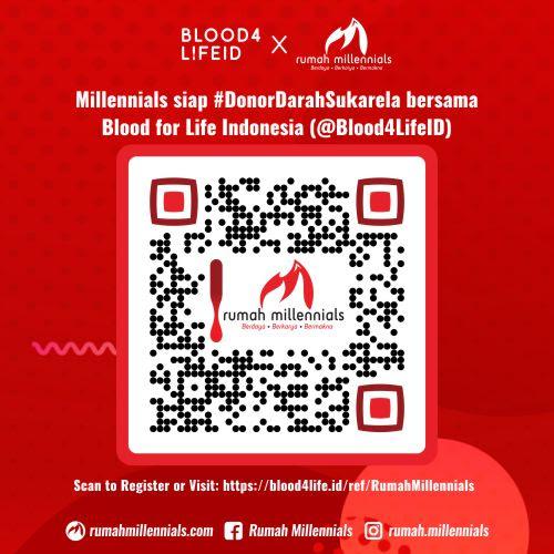 QR Code @Rumah.Millennials