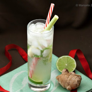 Lemongrass and Ginger Mojito.