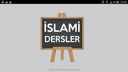 İslami Dersler screenshot 1