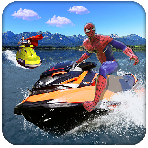 Superhero Speed Boat Racing: 3D Mega Ramp Stunts file APK Free for PC, smart TV Download