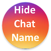 Hide Chat Name For Insta