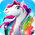Rainbow Horse Caring 🐴 Pony Dress Up Beauty Salon file APK Free for PC, smart TV Download