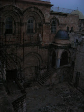 Photo: courtyard of the Church of the Resurrection