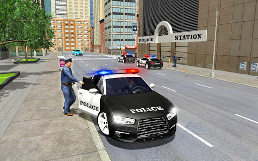 Police Cop Spooky Stunt Parking: Car Drive Parking filehippodl screenshot 1