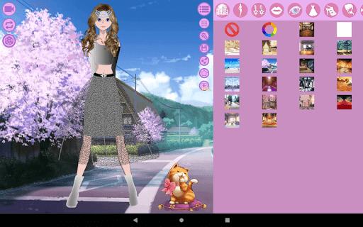Avatar Maker: Anime Lady screenshot 10