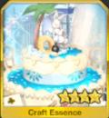 チョコレートケーキ・バニーホワイト