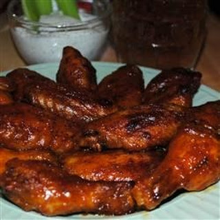 Blue Cheese Hot Wings!.