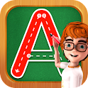 Preschool Write Letter ABC 123 icon