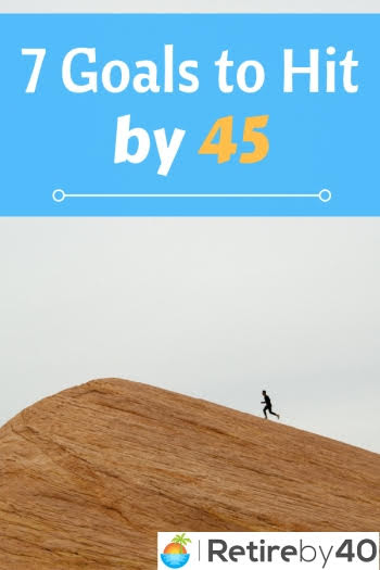 7 Financial Goals to Hit by 45