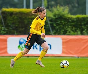 Geloof in de toekomst: 16-jarig talent en speelster van de maand blijft langer bij OH Leuven