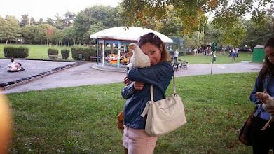 Photo: ...cucciolina mia. Grazie per essere venuta anche Tu in gita ed essere stata sempre con me !— con Saverio Palmieri, Maria Tintori, Coordinamento StaffetteVegan Lam e Mauro Collina