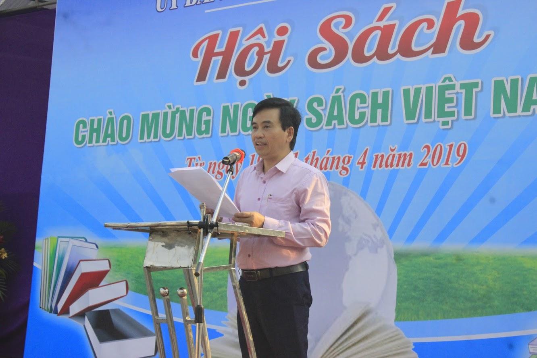 Ông Nguyễn Bá Hảo, Phó Giám đốc Sở Thông tin và Truyền thông phát biểu
