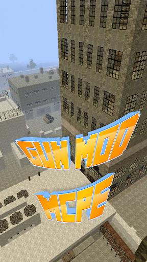 Gun Mod For MCPE.