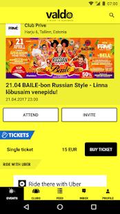 Valdo - nightclubs, events, tickets - náhled