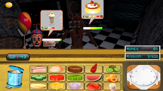 Five Nights at a Restaurant APK for Bluestacks