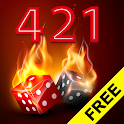 Dice Game Hot 421 icon