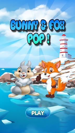 Bunny & Fox Pop 2020 : Bubble Shooter android2mod screenshots 1