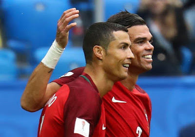 Ligue des champions : entre Cristiano et Pepe, l'un des deux amis va rester à quai