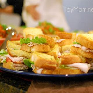 Turkey Caesar Sandwich.