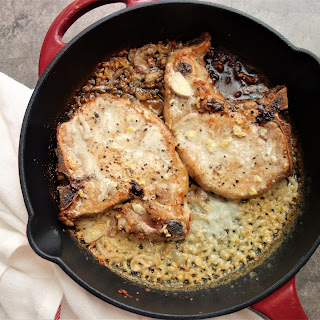 Pork Chops in Creamy Shallot Sauce Recipe