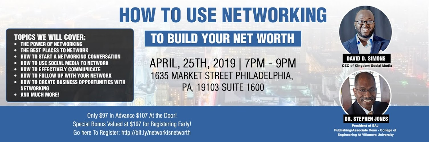 How to Use Networking to Build Your Net Worth