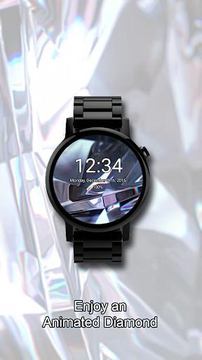 Animated Diamond Watch Face