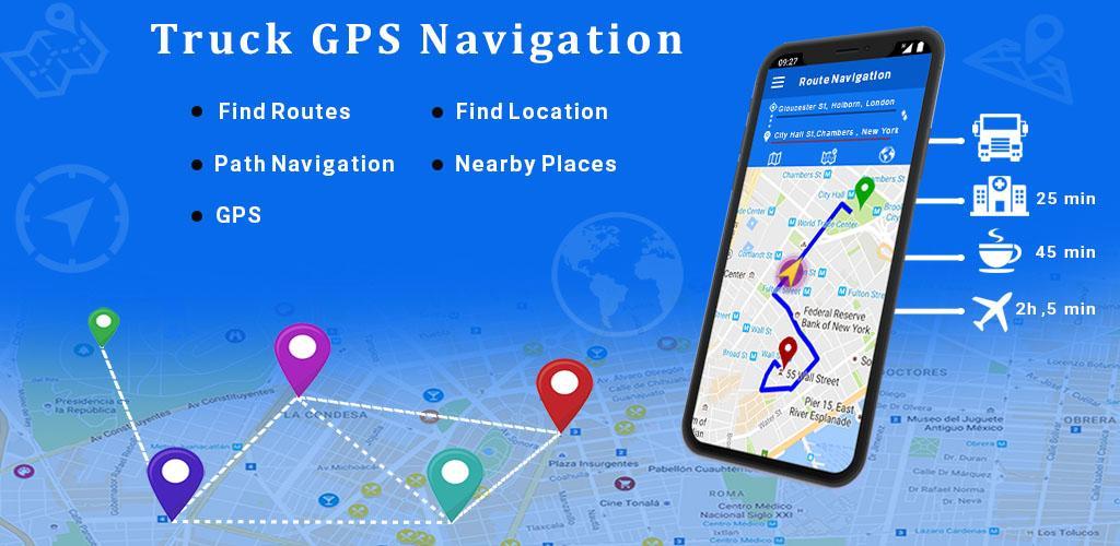 Free Truck Navigation - Truck Gps - App by AXE Apps