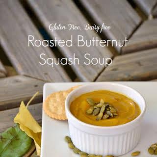 Roasted Butternut Squash Soup {Gluten-Free, Dairy-Free}.