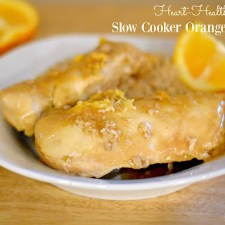 Heart-Healthy Slow Cooker Orange Chicken