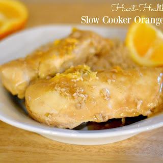 Heart-Healthy Slow Cooker Orange Chicken