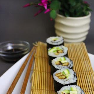 Yummy. Tempeh. Sushi. Vegan!
