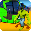 Superheroes Bus Stunts Racing